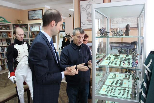 Борисов посетил дипломат из посольства Франции в Беларуси 2